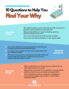 BATHROOM REMODELING_ 10 Questions to Help You Find Your Why
