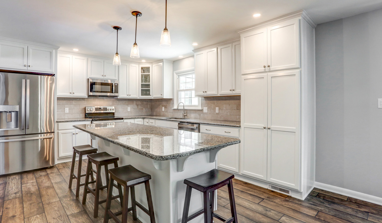 Lititz kitchen remodel with gray granite countertop