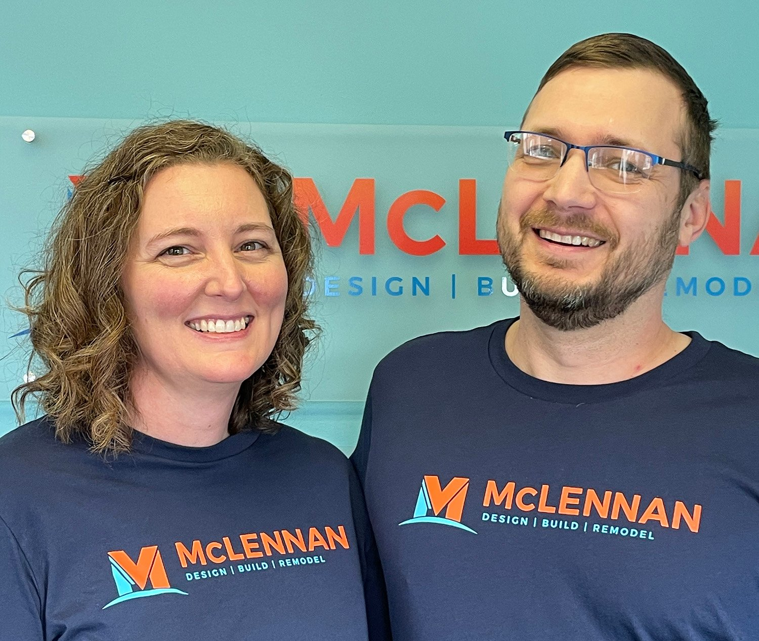 Tim and Alison McLennan, owners of McLennan Contracting