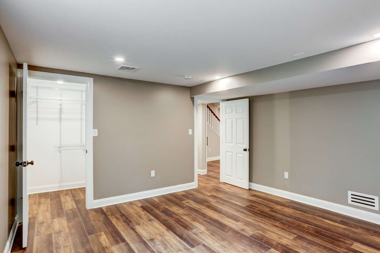 Bedroom or Office in Lancaster Basement Remodel