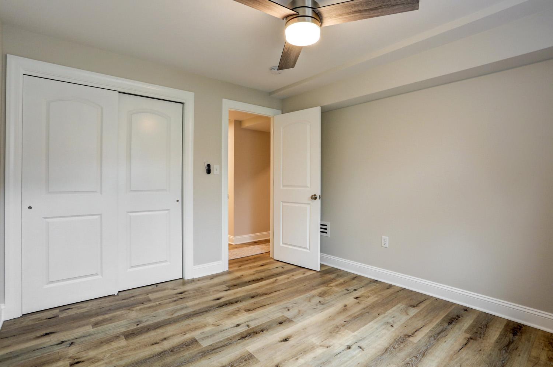 Bedroom in Lancaster finished basement remodel