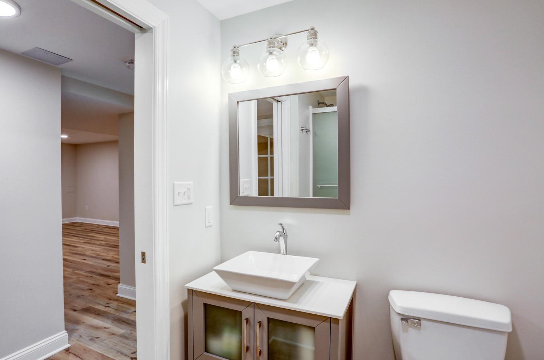 Vessel sink in Lancaster bathroom remodel