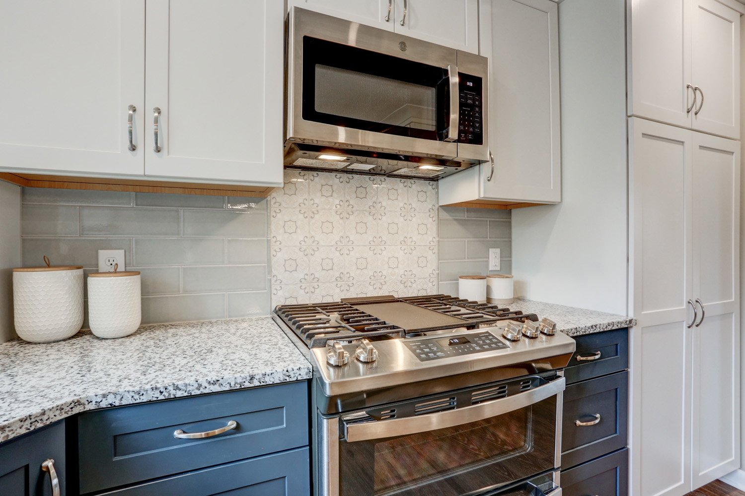 Warwick Township Kitchen Remodel With Granite Countertops
