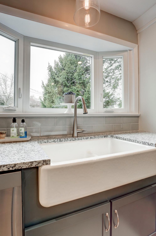 Farm Sink in Warwick Township Kitchen Remodel