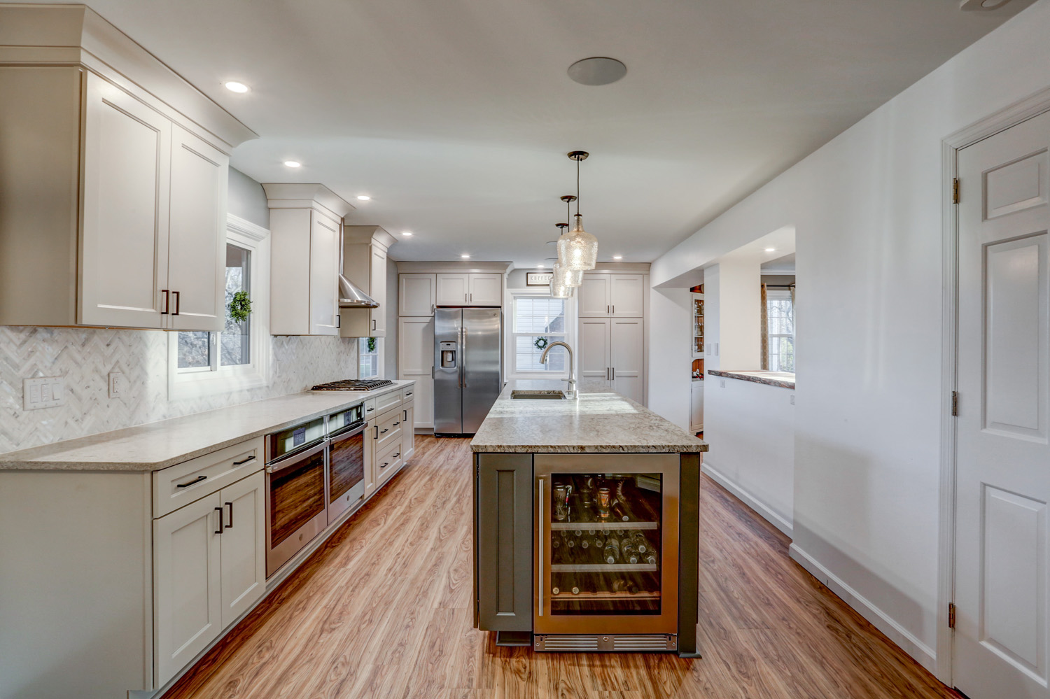 After photo of Manheim Township kitchen remodel