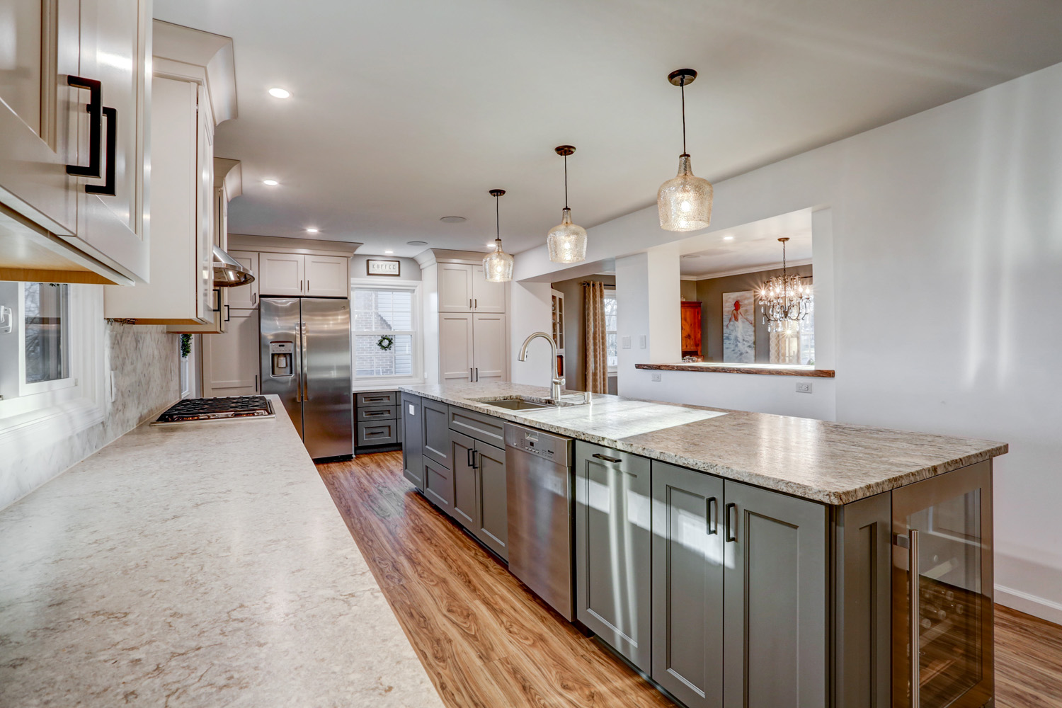 Newly remodeled kitchen in Lancaster PA